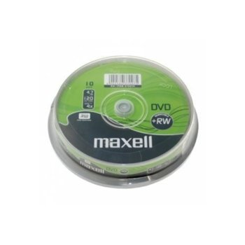 Оптичен носител DVD+RW 4.7GB Maxell, 10 бр. image