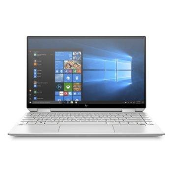 "Лаптоп HP Spectre x360 13-aw0010nu (9QZ75EA)(сребрист), четириядрен Ice Lake Intel Core i7-1065G7 1.3/3.9 GHz, 13.3"" (33.78 cm) Full HD Touchscreen Anti-Glare Display, (USB 3.1 Type-C), 16GB LPDDR4, 1TB SSD, Windows 10 Home image"