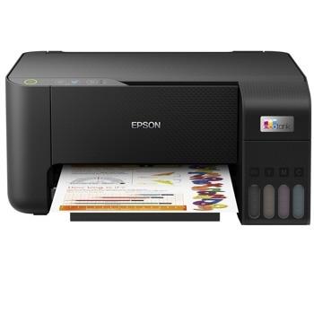 Мултифункционално мастиленоструйно устройство Epson L3210, цветен, принтер/копир/скенер, 5760 x 1440 dpi, 33 стр./мин, USB, A4 image