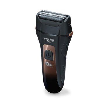 Самобръсначка Beurer HR 7000 в комплект с тример Beurer HR 2000, 3x ножчета, с батерия, LED дисплей, водоустойчив, 60 мин време на работа, черна image