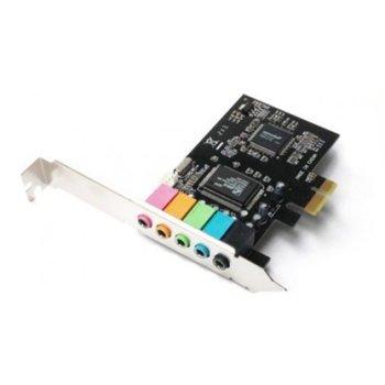 Звукова карта CMI 8738, 5.1 канална PCIe image