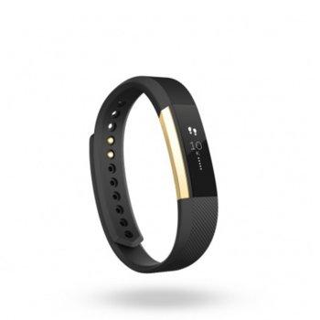 Fitbit Alta Large Size Gold Black FB406GBKL-EU product