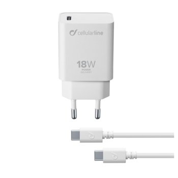 Power Delivery и кабел USB-C към USB-C 18W product
