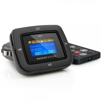 FM трансмитер Energy MP3 1100 Dark Iron, дистанционно, поддържа SD/SD-HC карта, USB, 3,5mm Jack image