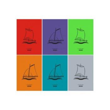 Тетрадка Seren Fluor, формат А4, офсет, редове, 60 листа image