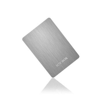 """Кутия, 2.5""""(6.35 cm), Raidsonic IB-234U3 за, 2.5"""" SATA HDD, USB3.0, алуминиева image"""