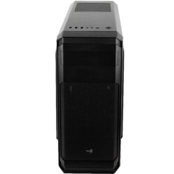 Кутия Aerocool Aero-300 (AERO-300-BK), ATX, 1 x USB 3.0, черна, без захранване image