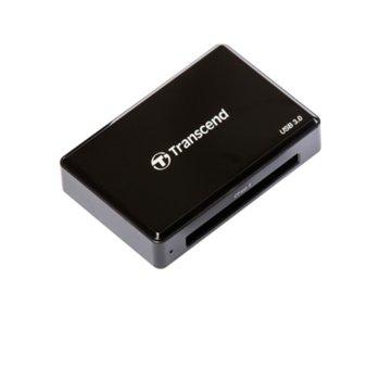 Четец за карти Transcend TS-RDF2, USB 3.0, CFast 2.0/CFast 1.1/CFast 1.0, черен image