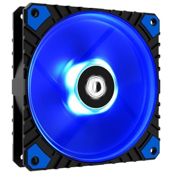 Вентилатор 120mm, ID-Cooling (WF-12025-XT-B), 4-pin, 2200 rpm, синя подсветка image