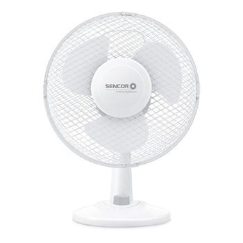Вентилатор Sencor SFE 2327WH, 2 скорости на работа, 38 см височина, бял image