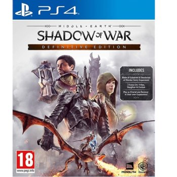Игра за конзола Middle-earth: Shadow of War - Definitive Edition, за PS4 image
