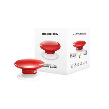 Бутон Fibaro The Button, за системата за домашна автоматизация Fibaro, различни видове функции чрез натискане, различни цветове image