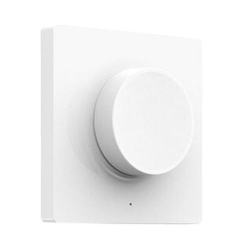 Смарт ключ Yeelight Dimmable Switch White (YLKG07YL), димиращ ключ, безжично управление, Bluetooth, на батерия, бял image