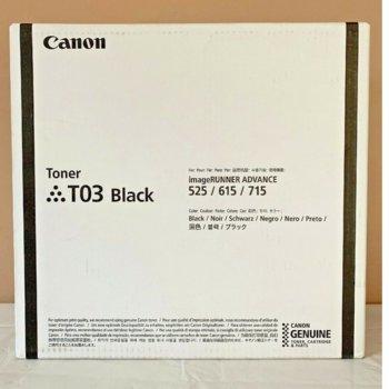 Тонер касета за Canon imageRUNNER ADVANCE 525i II / 615 / 715, Black, - 2725C001AA - Canon - Заб.: 51 000 k image