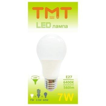 LED крушка Tmt, E27, 7W, 560 lm, 6400 k image