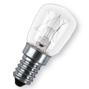 Kрушка с нажежаема жичка Xavax 112444, за хладилници/фризери, E14, 25W, 160 lm, 2700 K, топло бяла image