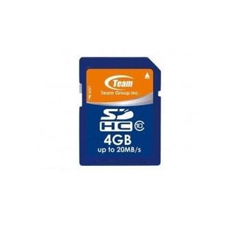 Карта памет TEAM SDHC, 4GB, Class 10 image