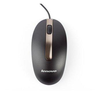 Мишка Lenovo M3803A, оптична (1000dpi), черна, USB image