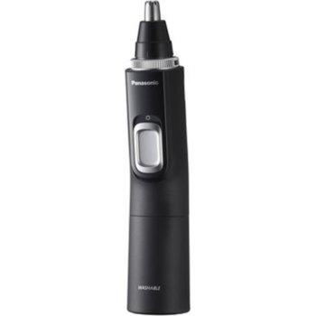 Тример Panasonic ER-GN300K503, тример за носа и уши, работа на батерия тип AAА x 2, време за бръснене 90 минути, черен image