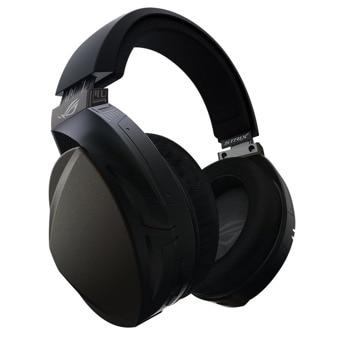 Слушалки Asus ROG Strix Fusion Wireless, микрофон, 50мм говорители, гейминг, безжични, 2.4 GHz, издържливост на батерията до 16 ч., черни image