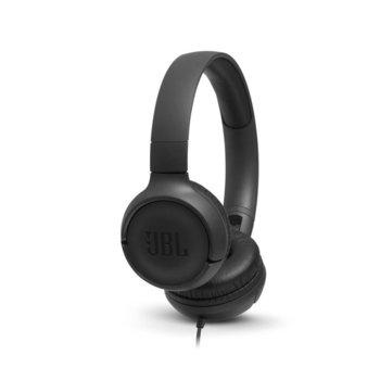 Слушалки JBL Tune 500, микрофон, черни image