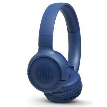 Слушалки JBL Tune 500, микрофон, сини image