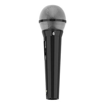 Микрофон One Plus R2853, 6.3mm жак, кардиоиден, еднопосочен, подходящ за караоке тонколони, черен image