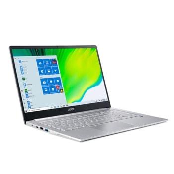 "Лаптоп Acer Swift 3 SF314-42-R988 (NX.HSEEX.00G_NP.ACC11.029) с подарък раница Acer Predator ABG950 и мишка Acer, шестядрен AMD Ryzen 5 4500U 2.3/4.0GHz, 14"" (35.56 cm) Full HD IPS Anti-Glare Display, (HDMI), 8GB DDR4, 512GB SSD, Windows 10 Home image"