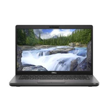 "Лаптоп Dell Latitude 5401 (N007L540114EMEA), шестядрен Coffee Lake Intel Core i7-9850H 2.6/4.6 GHz, 14.0"" (35.56 cm) Full HD Anti-Glare Display, (HDMI), 16GB DDR4, 512GB SSD, 1x USB 3.1 Type C, Windows 10 Pro, 1.53 kg image"