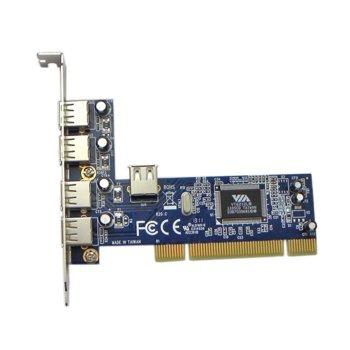 Контролер PCI към 4 x USB2.0 image