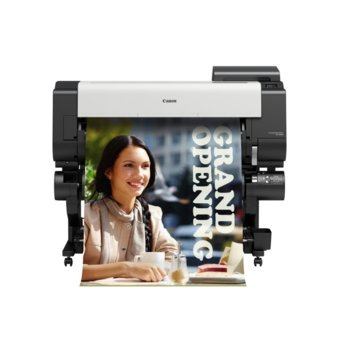 """Плотер Canon imagePROGRAF TX-3000 в комплект със стенд, клас 5-цветен 36"""" (914 mm), 2400x1200 dpi, 2GB RAM, 500GB твърд диск, Wi-Fi, LAN 10/100/1000Base-TX, USB, A0 image"""