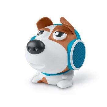 Тонколона Muse M-315 DOG, 1.0, 2x 4W, Bluetooth, до 15 часа време за работа, Micro USB, AUX, куче image