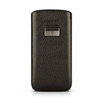 Кожен калъф тип джоб Beyzacases Retro Strap, iPhone 7/6/6S, черен image