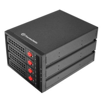 """Чекмедже (rack) за твърд диск Thermaltake Max 3504, 4 x 2.5""""/3.5"""" Multi Bay в 5.25"""" image"""