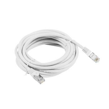 Пач кабел Lanberg PCF5-10CC-1500-W, FTP, cat.5e, 15м, бял image