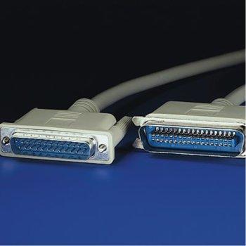 Кабел Roline Parallel Centronics 36Pin към Parallel 25(м), 1.8m image