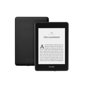"Електронна книга Kindle Paperwhite, 6.0"" (15.24 cm) E-ink дисплей, 32GB Flash памет, Wi-Fi, Черна image"