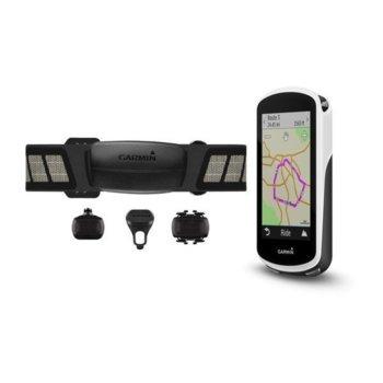 "Навигация за велосипед Garmin Edge® 1030 Sensor Bundle, 3,5"" (8.89 cm) дисплей, 16GB вградена памет, водоустойчив IPX7, Wi-Fi, Bluetooth и ANT+, microSD image"