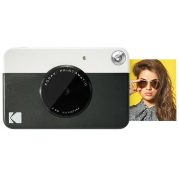 Фотоапарат Kodak Printomatic ZINK RODOMATICBK(черен), 10 Mpix, MicroSDHC, USB image