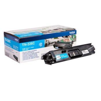 Тонер касета за Brother DCP L8400CDN/L8450CDW/HL-L8250CDN/L8350CDW/L8350CDWT/MFC L8650CDW/L8850CDW, Cyan - TN-326C - Заб.: 3500 брой копие image
