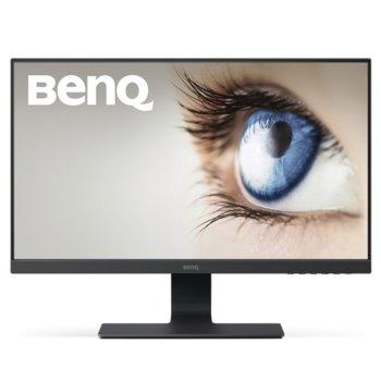 """Монитор BenQ GL2580H (9H.LGFLB.QBE), 24.5"""" (62.23 cm) TN панел, Full HD, 2ms, 12000000:1, 250 cd/m2, HDMI, DVI, VGA image"""