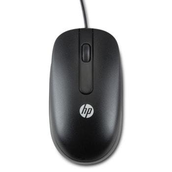 Мишка HP H4B81AA, лазерна, 3 програмируеми бутона, черна, USB  image