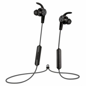 Слушалки Huawei BT Sport-Headset Lite AM61, безжични, Вграден микрофон за провеждане на разговори, черни image