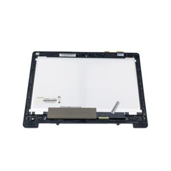 """Матрица за лаптоп Asus S301L N133BGE-L41, 13.3"""" (33.78 cm), WXGA, 1366x768 pix, гланц image"""
