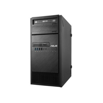 Настолен компютър Asus ESC500 G4 M7А, четиридрен Kaby Lake Intel Xeon E3-1230 v6 3.5/3.9GHz, Nvidia Quadro P4000 GDDR5 8GB, 16GB DDR4, 1TB HDD & 256GB SSD, 1x USB 3.1 Type C, 1, 1x USB 3.1, 6x USB 3.0, Free DOS image
