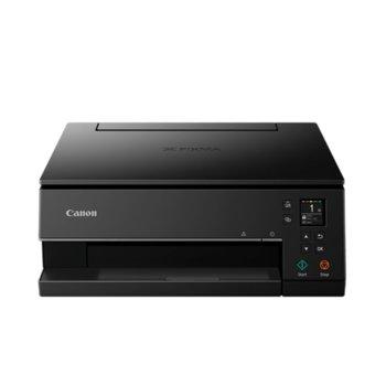 Мултифункционално мастиленоструйно устройство Canon PIXMA TS6350 (3774C008), цветен принтер/копир/скенер, 4800 x 1200 dpi, 33 стр./мин, USB, A4, Wi-Fi, Bluetooth image