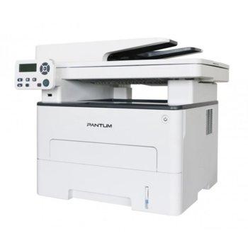 Мултифункционално лазерно устройство Pantum M7100DW, принтер/копир/скенер, 1200 x 1200 dpi, 35 стр./мин, Wi-Fi, LAN, USB, A4, двустранен печат, ADF image