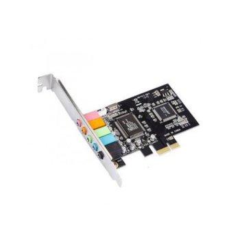 Звукова карта 53846, 5.1, PCI-E image