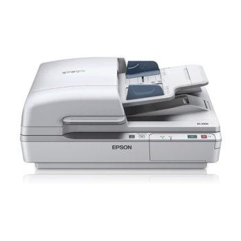 Скенер Epson WorkForce DS-6500, 1200x1200dpi, А4, ADF, USB image