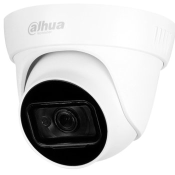 HDCVI камера Dahua HAC-HDW1500TL-A-0280B, куполна, 5 Mpix(2592x1944@20fps), 2.8mm обектив, IR осветеност (до 30м), външна IP67 image